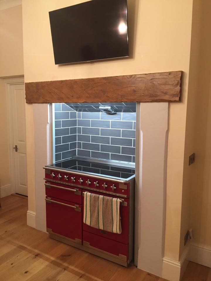 cooker fitted
