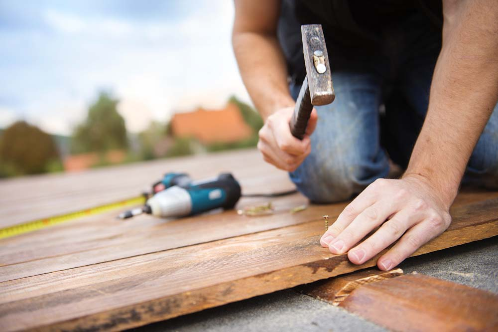 outdoor decking repair